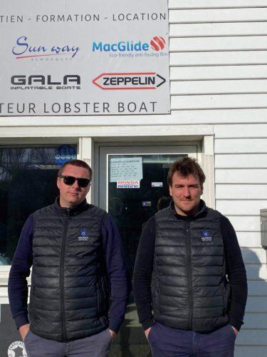 Pierre Barreau-Mainson & Julien Corneleau, Nautique Services La Rochelle