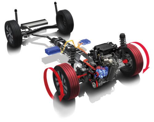 Systeme Hybride 48V SHVS